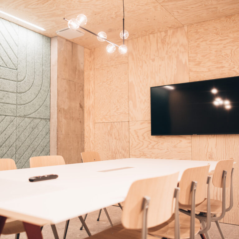 Bright and modern coworking and event space in Lausanne